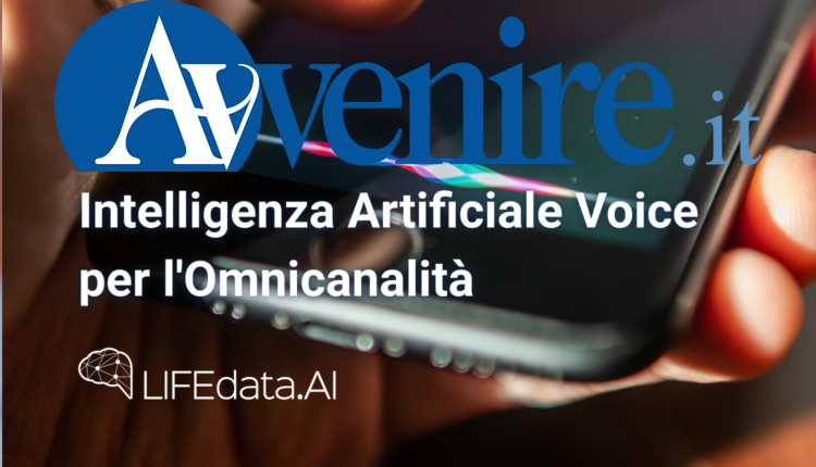 LIFEdata Sara Intelligenza artificiale voce
